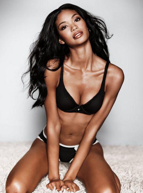 American Model Chanel Iman