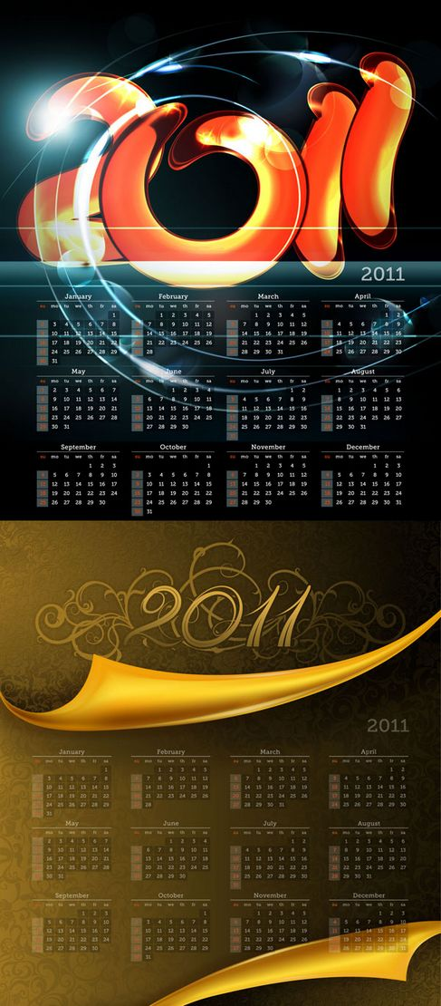 2011 calendar template. 2011 Calendar Template 01 –