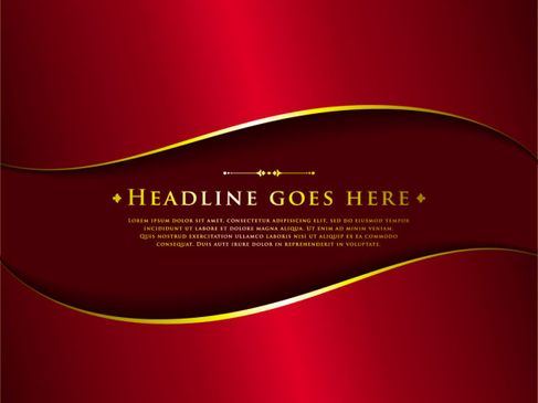 Classic Deluxe red background Vector 01.jpg
