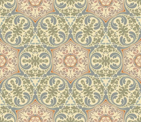 Retro floral pattern Vector 03.jpg