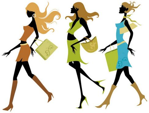 Shopping Girls Vector 01.jpg