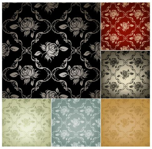 Beautiful background pattern Vector 03.jpg