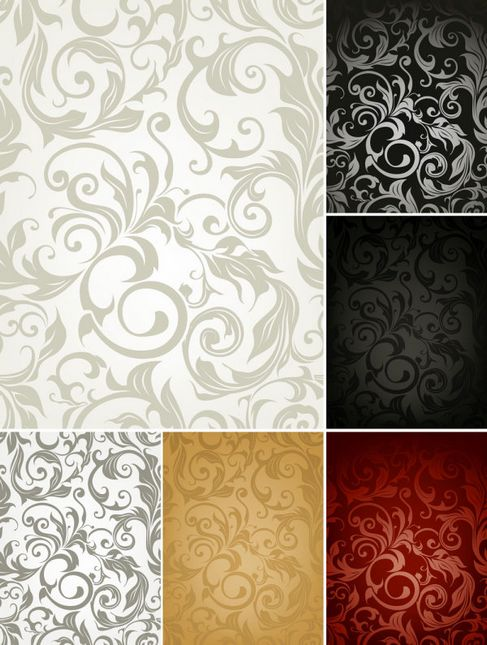 Beautiful background pattern Vector 04.jpg