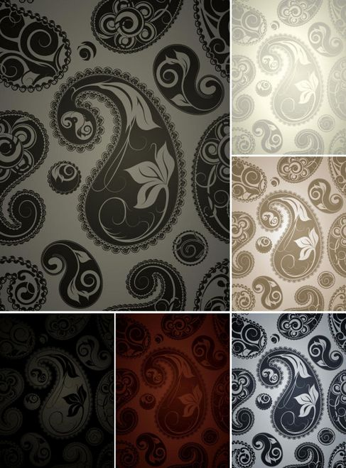 Beautiful background pattern vector 05