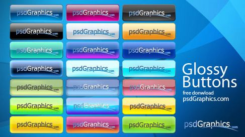Beautiful crystal buttons psd layered material.jpg