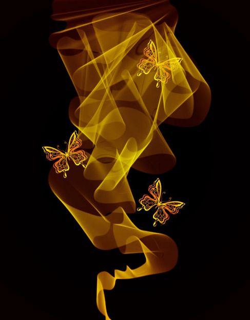 Brilliant neon butterfly Vector 01.jpg