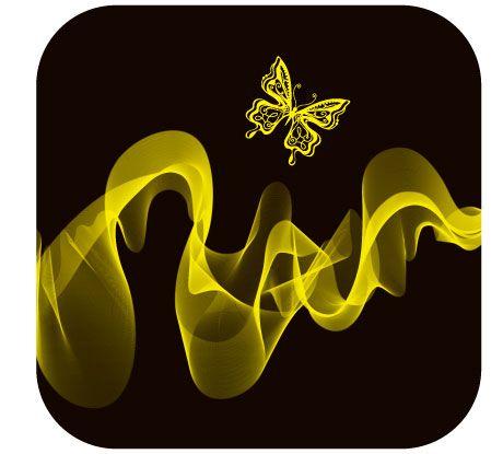 Brilliant neon butterfly Vector 03.jpg