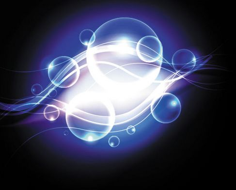 Dynamic effects blue halo Vector 01.jpg
