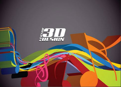 Dynamic three-dimensional elements Vector 03.jpg