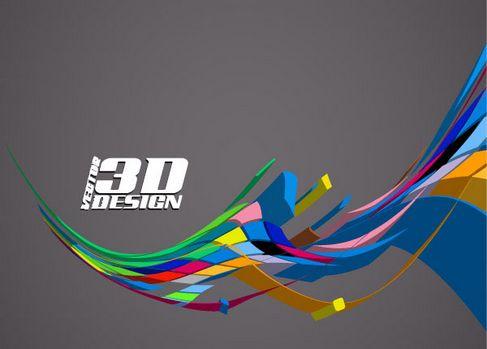 Dynamic three-dimensional elements Vector 04.jpg