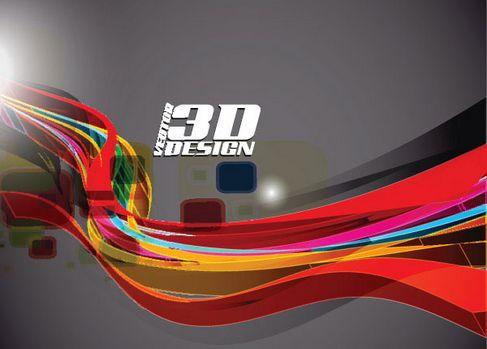Dynamic three-dimensional elements Vector 05.jpg