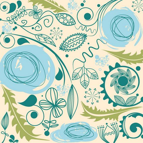 European retro pattern vector material 02.jpg