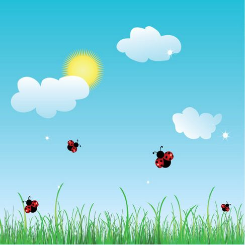 Summer cartoon images Vector 01.jpg