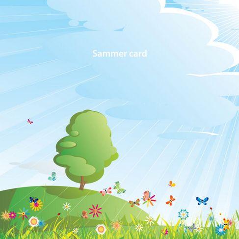 Summer cartoon images Vector 05.jpg