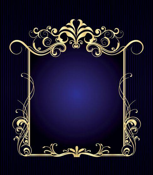 Gorgeous European-style frame Vector 01.jpg