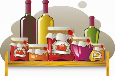 Food jar vector material 02.jpg