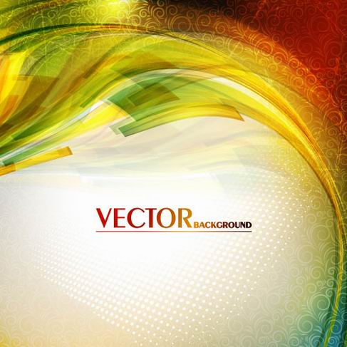 Gorgeous bright halo background vector material 05.jpg