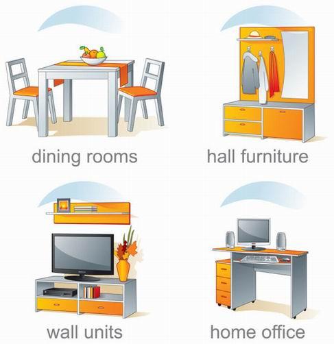 Indoor decorative effect Figure Vector material 01.jpg