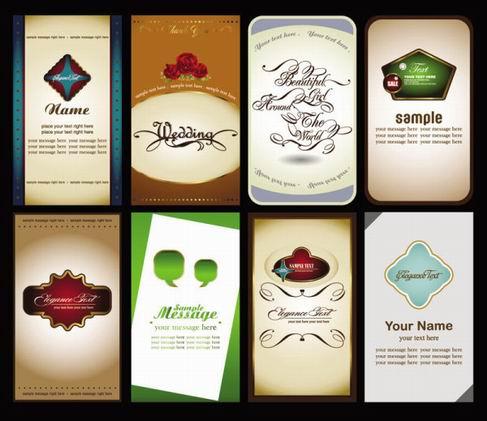 beautiful card vector material 04.jpg