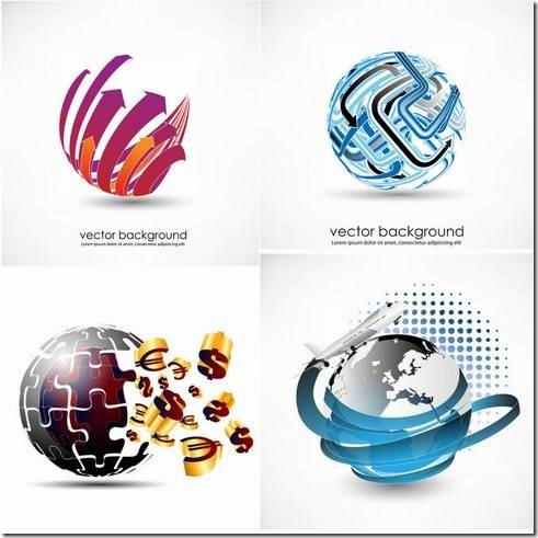 3D dynamic logo material