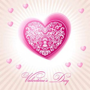 22 beautiful valentine cards vector material 01