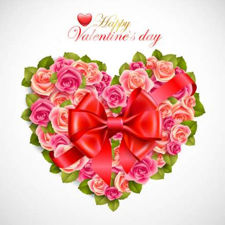 22 beautiful valentine cards vector material – Beautiful Valentine Cards