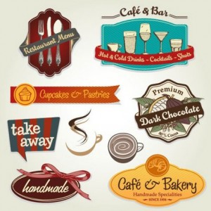 Five Menu restaurant cafe bar corporate identity and logo vector 01 (2)