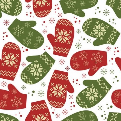 Five elegant Christmas background pattern vector material 02