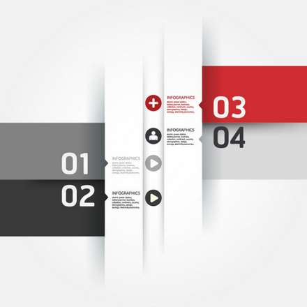 The three trend of label vector images 02