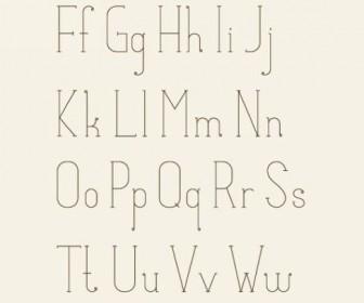 Matilde English fonts