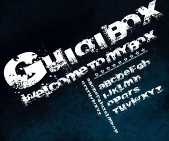 Dark graffiti fonts