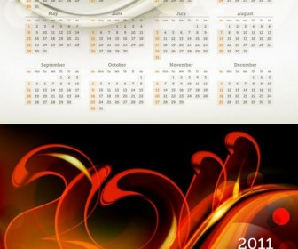 Calendar Template 02 - Vector