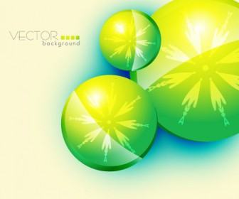Green textured background vector material 01
