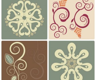 Elegant patterns Vector 01