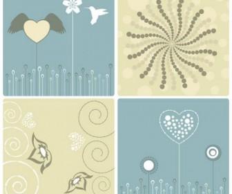 Elegant patterns Vector 02