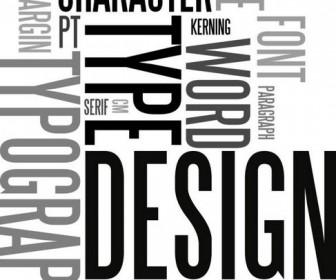 Letter plate design Vector 01