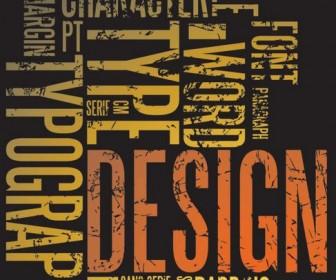 Letter plate design Vector 02