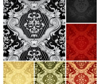 Beautiful background pattern Vector 01