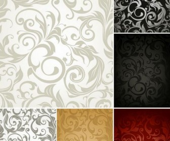 Beautiful background pattern Vector 04