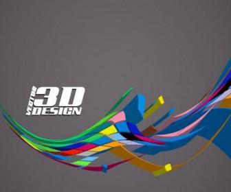 Dynamic three-dimensional elements Vector 04