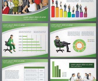 Background of business and financial PPT Vector 02