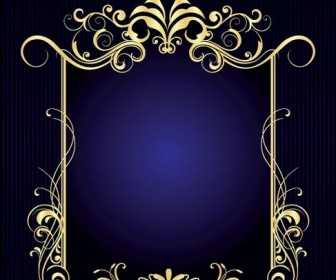 Gorgeous European style frame Vector 01